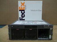 HP Proliant DL580 G2 Server 4x1.6GHz Xeon CPUs 2GB Dual Power Supplies