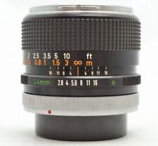 CANON FD24mm FD 24mm F2.8 17-35mm Camera FD Lens