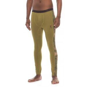New Men`s Browning Speed MHS Base Layer Pants Wool
