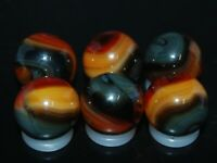 SIX PACK Jabo Classic Marbles Collector Set  HTF Marble Lot KEEPERS L- 626