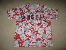 Angels Baseball Angels Hawaiian Shirt Sz Adult XL - 7/25/2014 SGA - New
