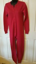Stanfield's Red Union Suit/Combination XL - MEN