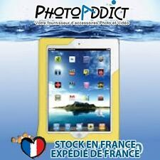 DiCAPac WP-I20 - Housse étanche pour iPad 1 et iPad 2 - Jaune - Certifié IPX8