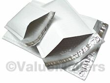 100 Poly Bubble Mailers USA Envelopes Bags 30 #1, 30 #2, 20 #4 & 20 #5 Combo