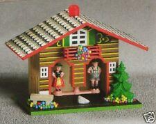 Wetterhaus aus Holz Wetterhäuschen Holzhaus NEU