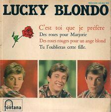EP 4 TITRES--LUCKY BLONDO--DES ROSES POUR MARJORIE