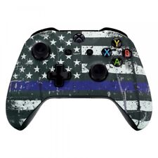 Patterned Soft Touch Front Housing Shell Repair Part for Xbox One X S Controller