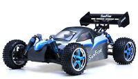 Exceed RC 1/10 Scale 2.4Ghz Brushless PRO Electric RTR Off Road Buggy EE Blue