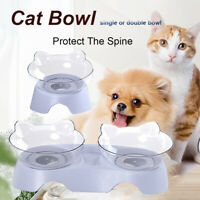 NEW Removable Food Bowl With Holder  Elevated Cat Dog Water Bowl  Pet Feeding~