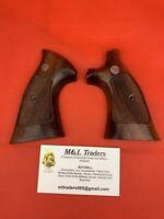 Smith & Wesson K Frame Grips Goncalo Alvez Vintage Target Grips