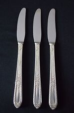 Holmes & Edwards Pattern Masterpiece 1932 Set of 3 Grille Knives