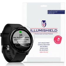 3x iLLumiShield Screen Protector Anti-Bubble for Garmin Vivoactive 3 Music