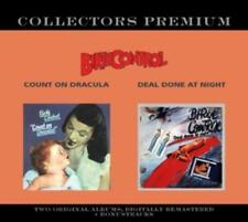BIRTH Control-count on Dracula/Deal done at night * 2 CD * NUOVO *