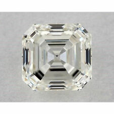 Asscher Loose Moissanite For Ring/Earrings/Jewelry 1.52 Ct Ice White h-i Color