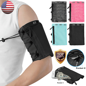 Sport Armband Phone Holder Jogging Running Gym Workt Out Breathable Arm Band Bag