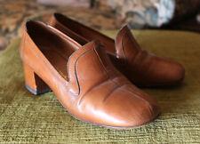 Scarpe donna tacco pelle vintage design womens shoes Souliers L. Lamperti