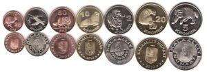 Greenland - set 7 coins 25 50 Ore 1 2 5 10 20 Kroner 2010 aUNC/UNC Lemberg-Zp