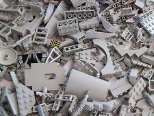 Lego 100 x Bauteile Sonderteile althellgrau alt hellgrau Grau  Konvolut