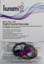 DCC decoder Soundtraxx TSU-1100 Tsunami2 Digital Sound Decoder for Steam