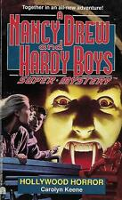 Hollywood Horror. Excellent Condition. 1 St. Ed. PB. Nancy Drew & Hardy Boys
