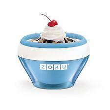 Zoku Ice Cream Maker Slush Yogurt Makers Sorbet Blue