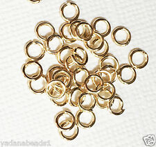 200 pcs of Reddish Gold Plated Jumpring 4mm