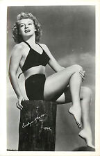 1940s RPPC Postcard Evelyn Keyes Pin Up Photo WJ Gray Unposted