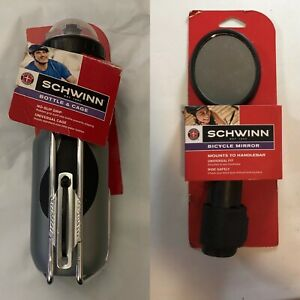 Schwinn 23 oz Bicycle Water Bottle /& Cage New Sealed