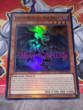 Carte Yu Gi Oh DRAGON RETRO AUX YEUX ROUGES BOSH-FR095
