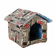 New listing Dog House Cat Litter Portable Outdoor Pet Litter Villa Tent Cat House Tent Cabin