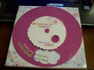 American Girl Truly Me Elige Una actividad  Wheel Card Game Spanish  4232