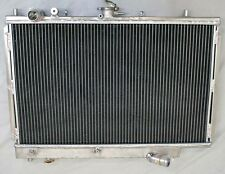 2 ROW Performance Aluminum Radiator fit for 1990-1994 Mazda Protege 323 MT New