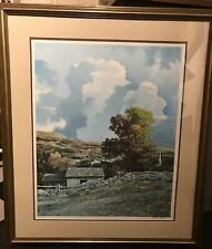 """Original Signed Eric Sloane Art -Excellent Condition """"Indian Paint Brushes"""" 950"""