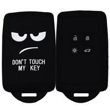 For  Renault Koleos Talisman Cartoon  4 Button Key Fob Silicone Protective Shell