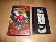 MAZINGER Z CONTRA DEVILMAN PELICULA DE ANIME EN VHS DEL AÑO 1999 EN BUEN ESTADO