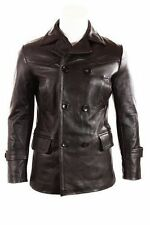German Submariner WW2 Men's KRIEGSMARINE Cow Hide Leather Jacket