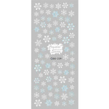 Crystal Snowflake Nail Art Water Transfer Sticker Decal Manicure DS-239