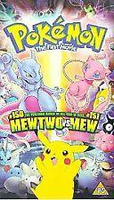 Pokemon The First Movie; Mew vs Mewtwo (2000) VHS