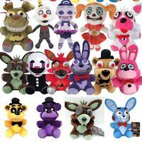 "6"" Five Nights at Freddy's Plush Stuffed FNAF Toy Plush Foxy Bonnie Kids Gifts"