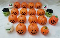 21 Mixed Halloween Blow Mold String Lights replacement parts Vintage