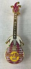 Hard Rock Cafe Pin New Orleans Mardi Gras Guitar Limited Edition