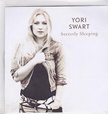 Yori Swart-Secretly Sleeping Promo cd single