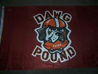 Cleveland Browns Flag New 3x5ft  DAWG DOG POUND banner genuine NFL Lic.