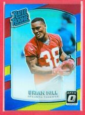 "2017 PANINI OPTIC (FB) Brian Hill CHROME ""PRIZM"" REFRACTOR RATED RC Card #160"