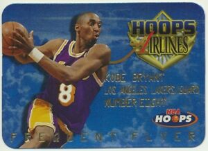 1997-98 Skybox NBA Hoops Airlines Frequent Flyer Kobe Bryant 2nd Year Lakers #9