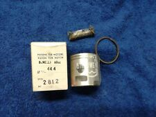 NOS Asso Piston 44.4mm  Benelli 60cc  (MB9-7037)