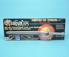 THUNDERCATS SWORD OF OMENS MOC BENELUX EURO CARD NRFB 1980s LJN TOYS VHTF