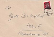 Austria 1946  1946 Cover A.H. blotted out.H. blotted out in Wien 8pf local rate.