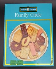 Scarce Vintage Blue Huntley & Palmers Family Circle Biscuit Selection Tin