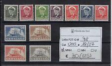 Groenlandia 1950 - 1960 Soggetti vari Unif 19/27
